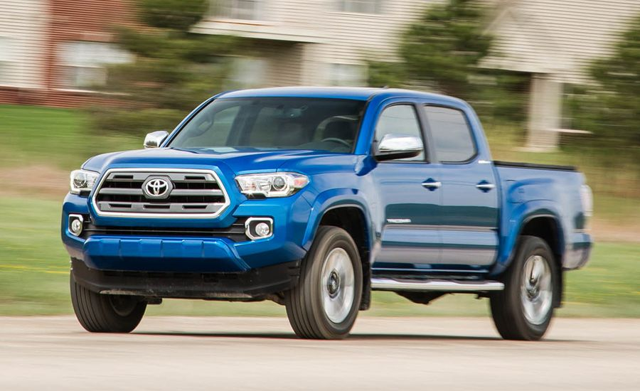 2016 toyota tacoma v 6 limited 4x4 review car and driver. Black Bedroom Furniture Sets. Home Design Ideas