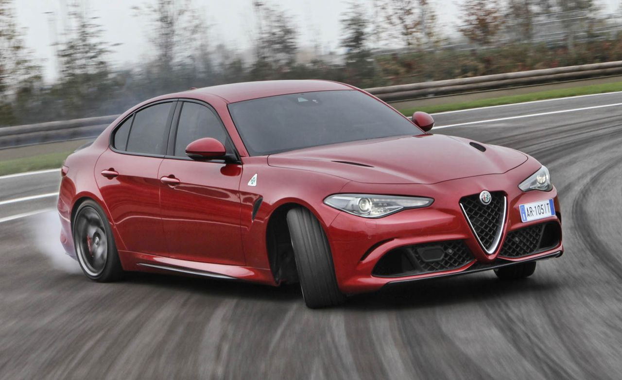 2017 Alfa Romeo Giulia Quadrifoglio First Drive Review Car And