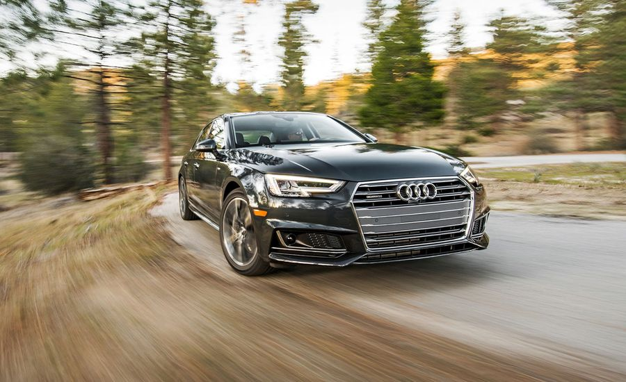 Audi A T Quattro Test Review Car And Driver - 2018 audi a4 reliability