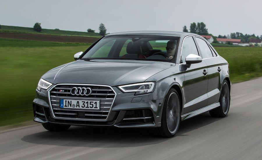 Audi S Sedan First Drive Review Car And Driver - Audi sedan series