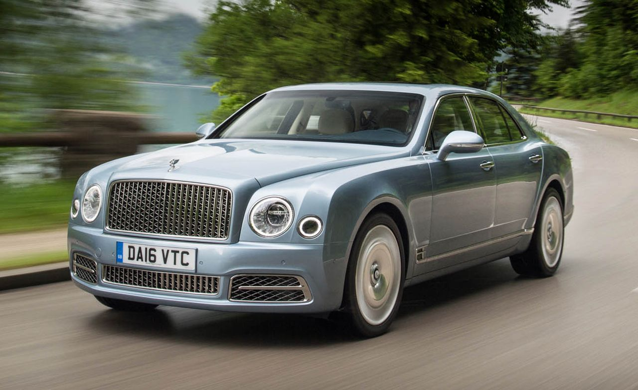 2017 Bentley Mulsanne Drive Review Car And Driver
