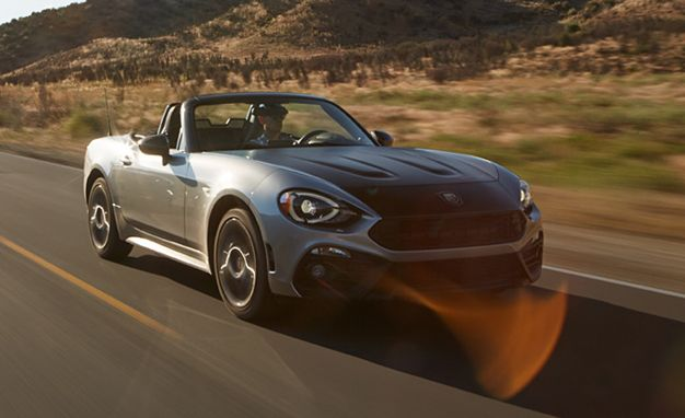 2017 fiat 124 spider abarth tested review car and driver. Black Bedroom Furniture Sets. Home Design Ideas