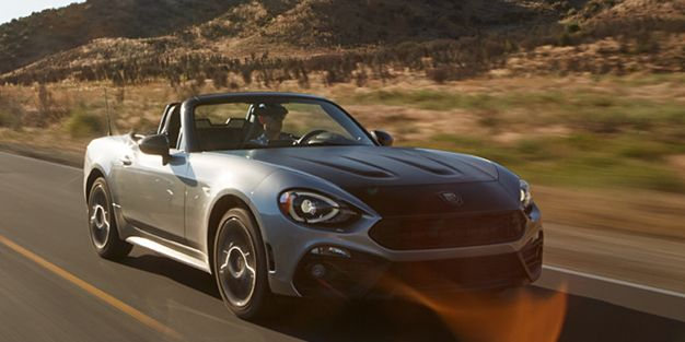 2017 fiat 124 spider abarth tested – review – car and driver