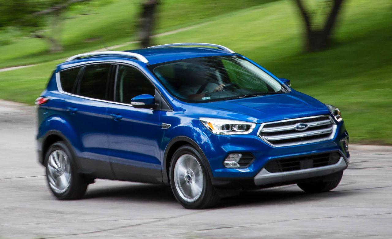 Ford escape 2017 reviews