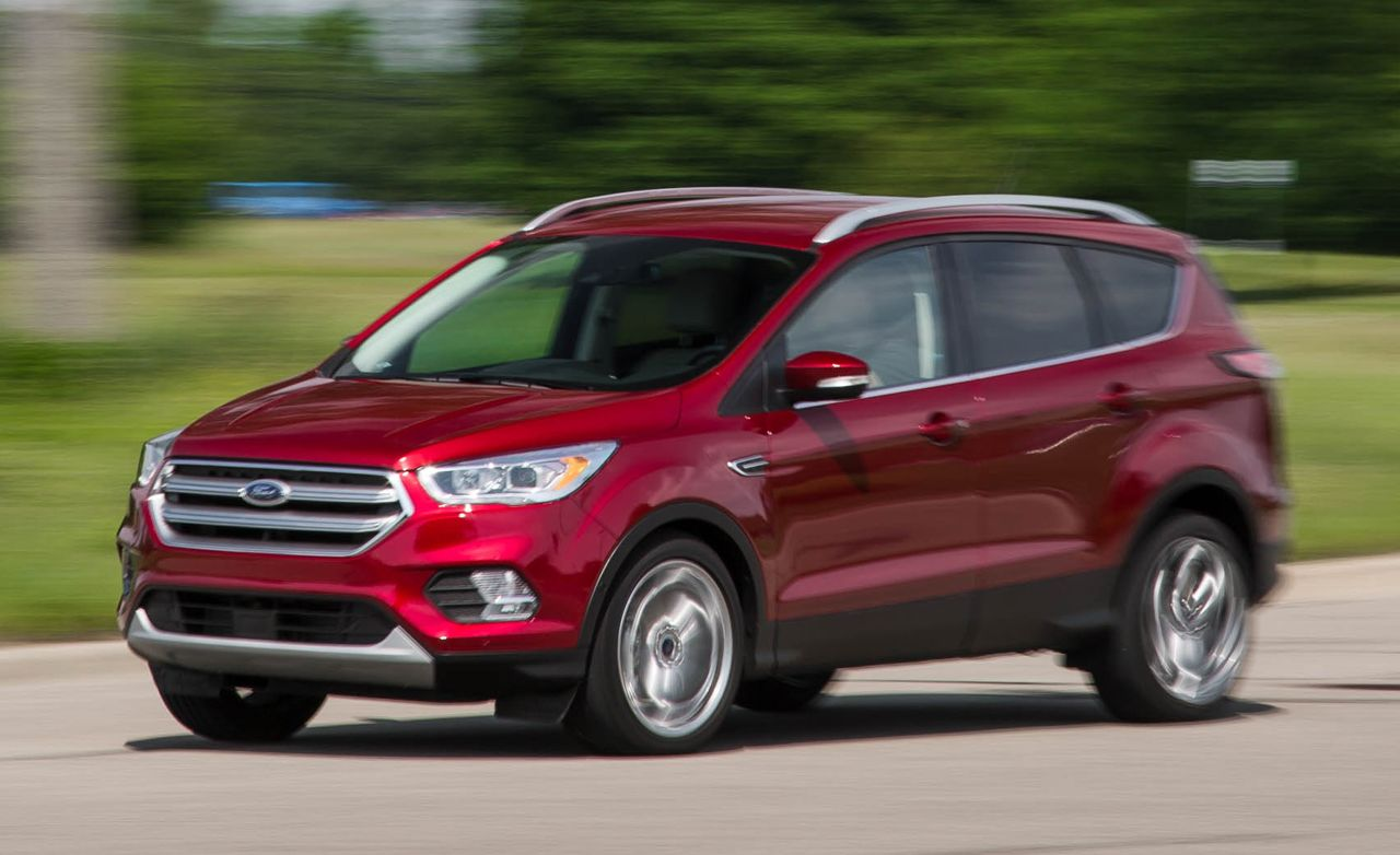 2017 ford escape 2 0l ecoboost awd test review car and driver