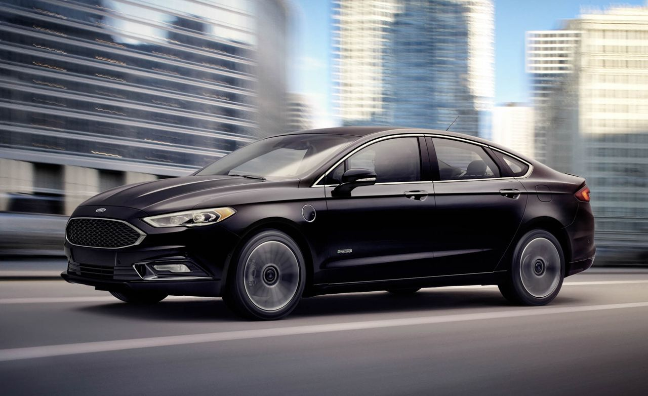 2017 Ford Fusion Energi Plug In Hybrid First Drive Review Car