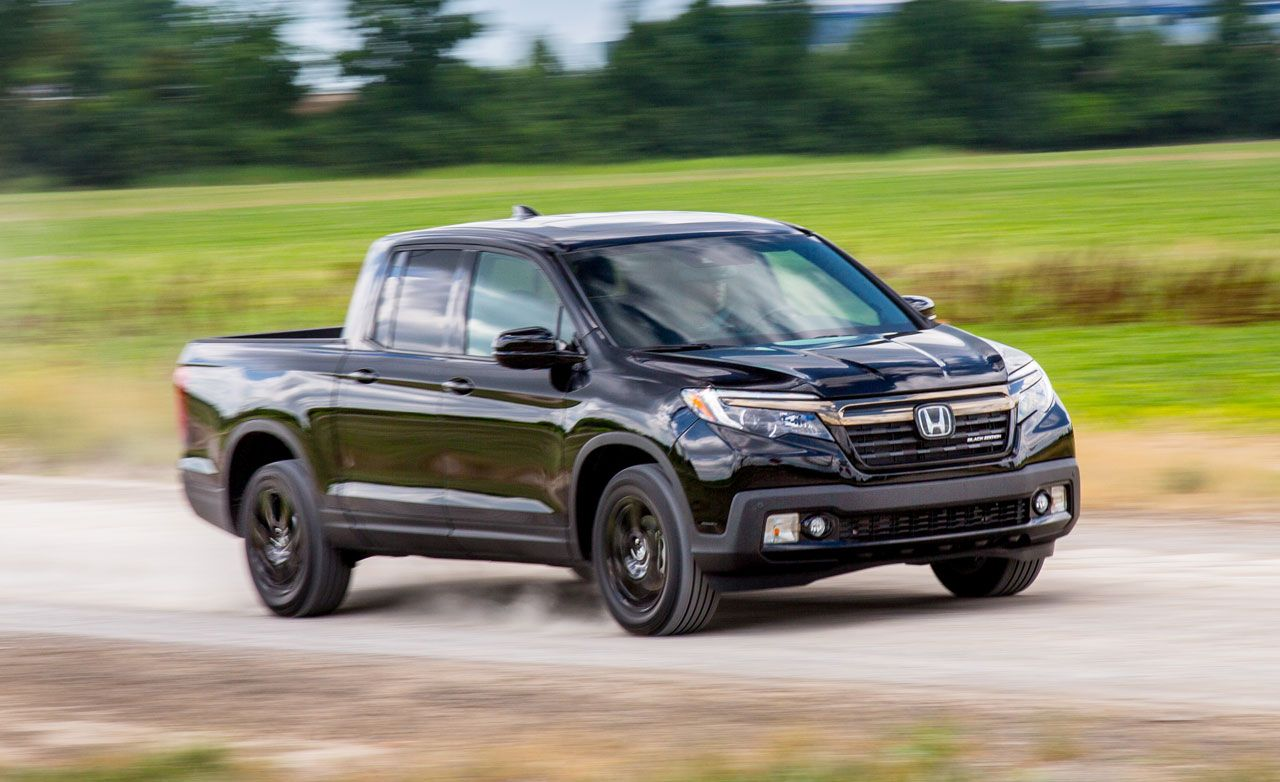 2017 Honda Ridgeline Awd Test Review Car And Driver
