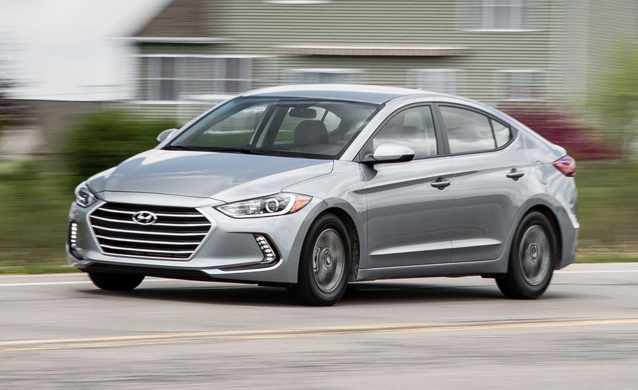 2017 hyundai elantra eco first drive review car and driver rh caranddriver  com Honda 4 Door Hyundai Accent