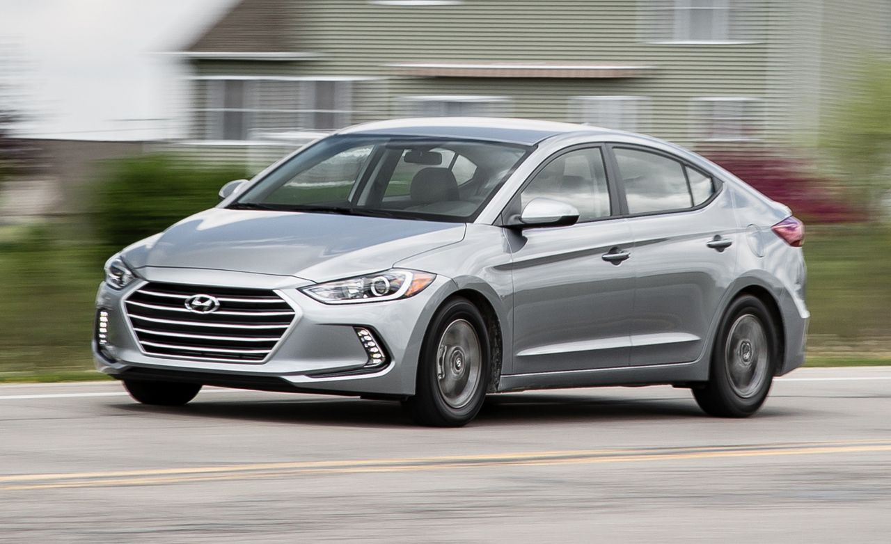 2017 Hyundai Elantra Eco First Drive Review Car And Driver