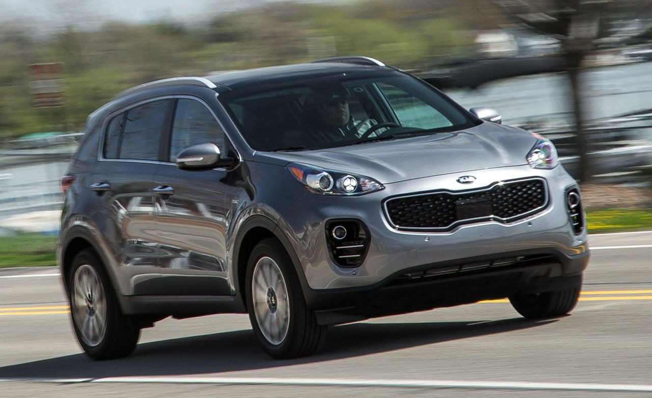2017 Kia Sportage 2 4l Awd Instrumented Test Review Car And Driver