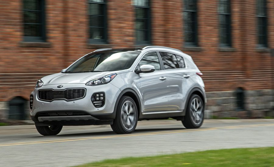 2017 kia sportage sx turbo awd test review car and driver. Black Bedroom Furniture Sets. Home Design Ideas