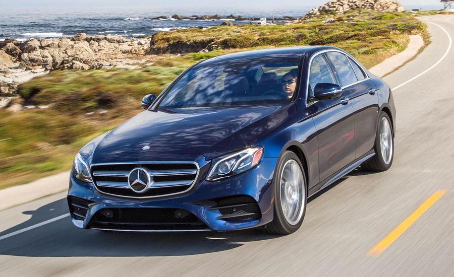 2017 mercedes benz e300 4matic first drive review car for Mercedes benz e300 price