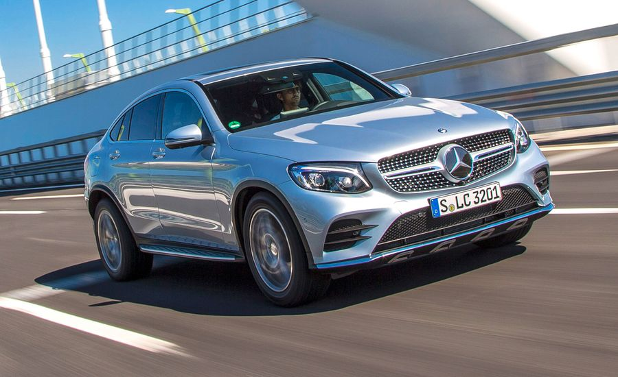 2017 Mercedes Benz Glc Coupe