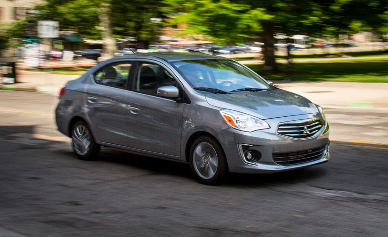 Mitsubishi Mirage 2017 Price >> Mitsubishi Mirage G4 Reviews | Mitsubishi Mirage G4 Price, Photos, and Specs | Car and Driver