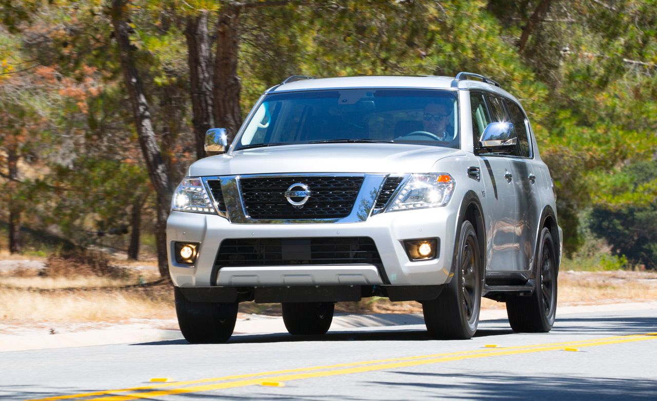 Nissan armada reviews nissan armada price photos and specs 2017 nissan armada vanachro Images