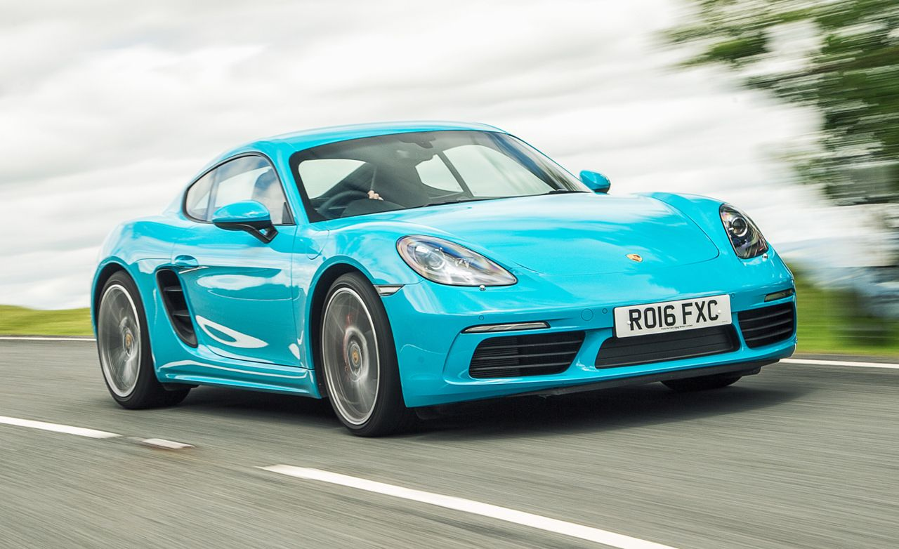 2017 Porsche 718 Cayman S First Drive Review Car And Driver