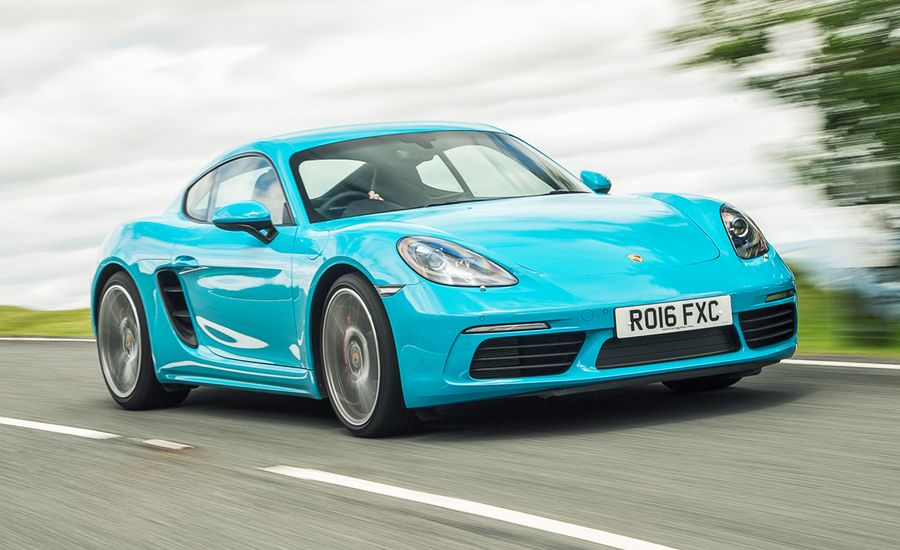2017 porsche 718 cayman s first drive review car and driver. Black Bedroom Furniture Sets. Home Design Ideas