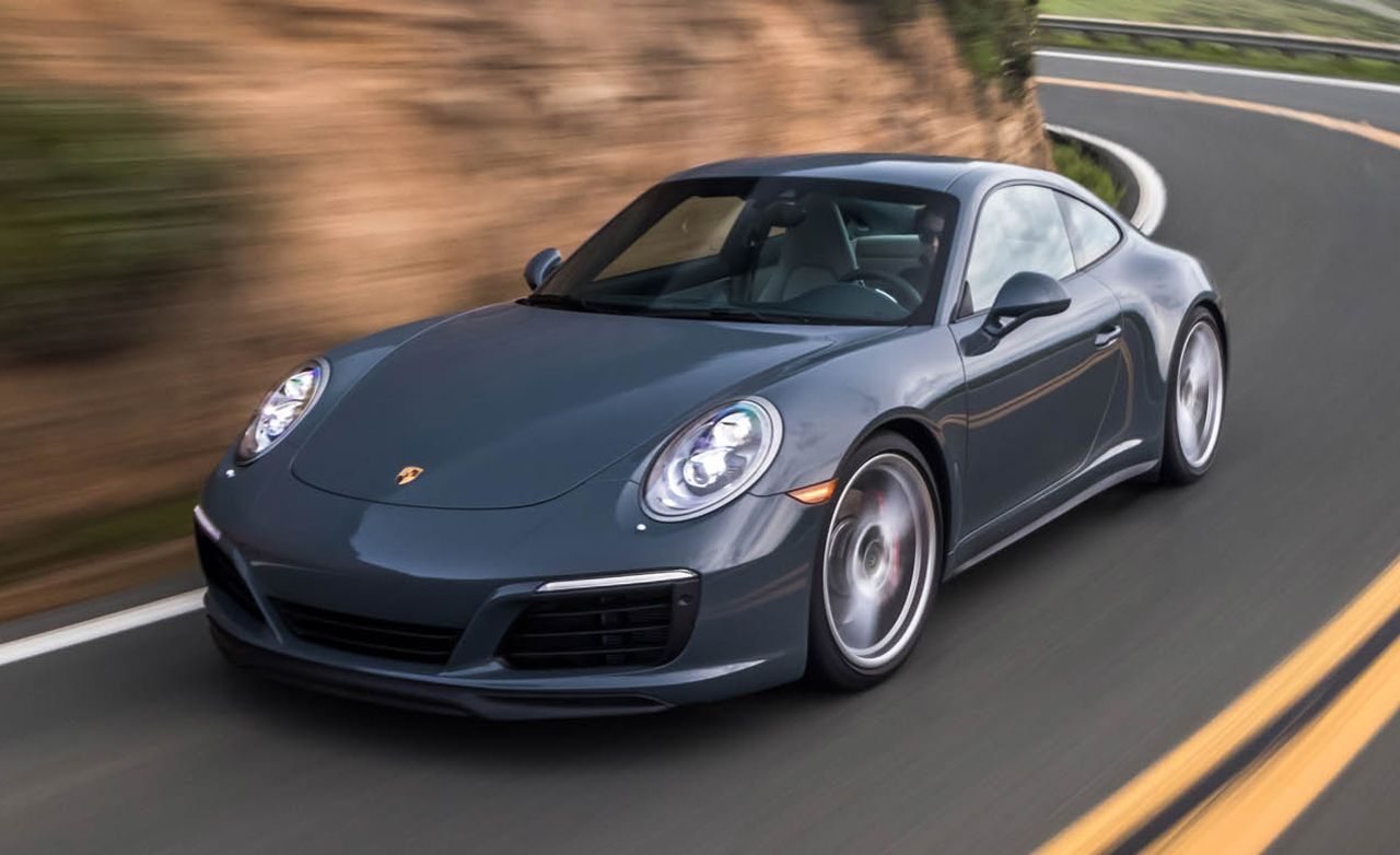 2017 Porsche 911 Carrera 4s Coupe First Drive Review