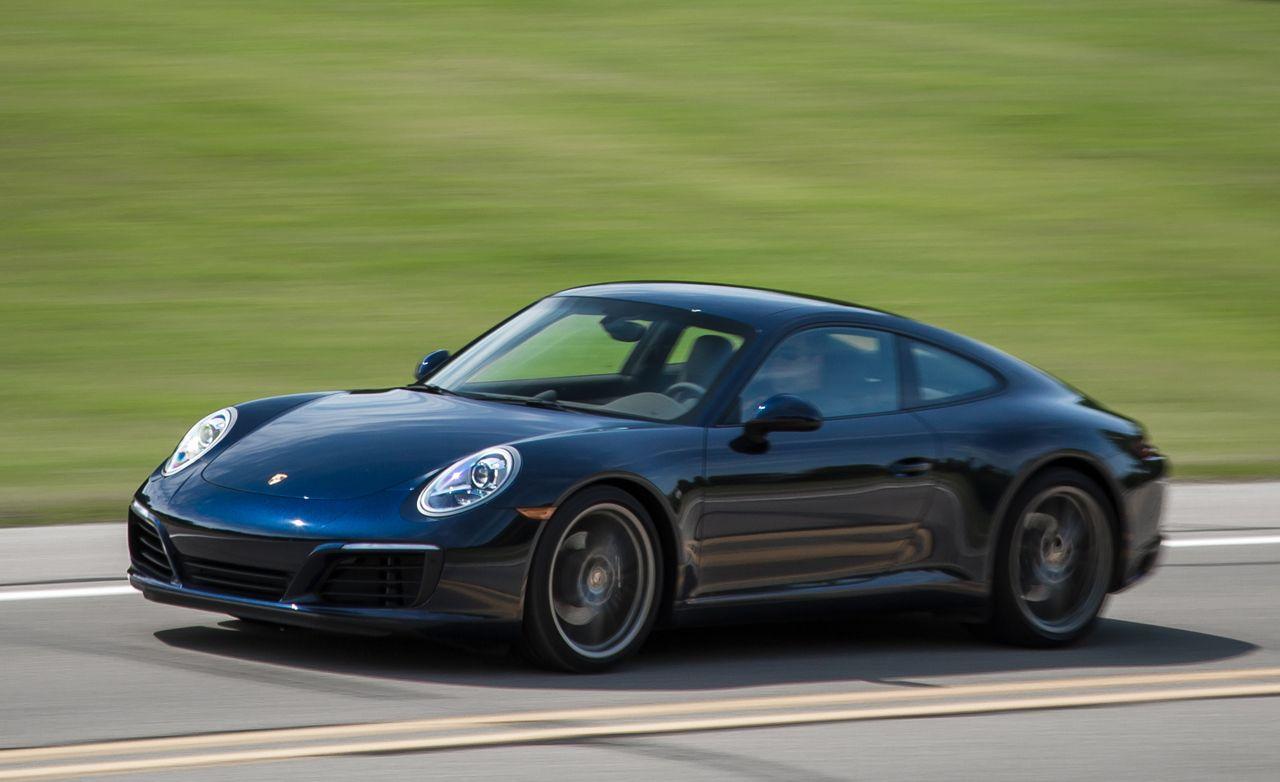 2017 porsche 911 horsepower