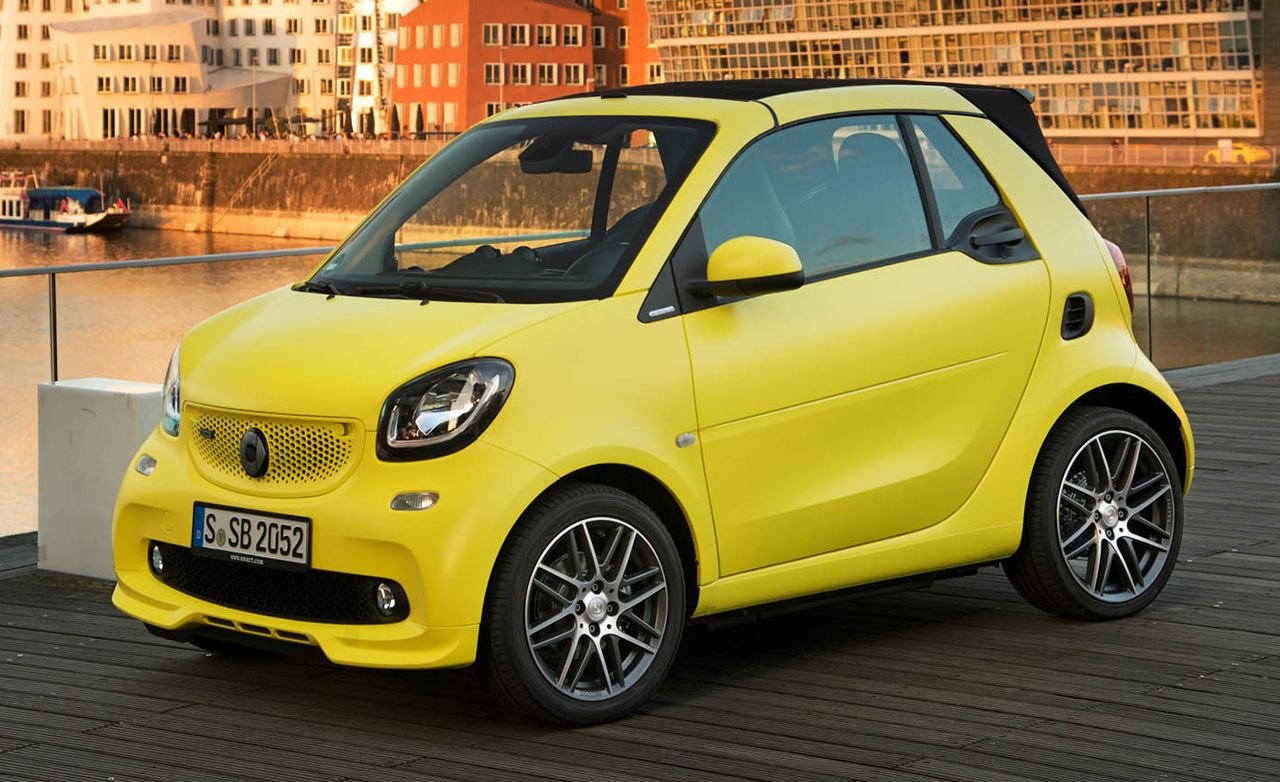 2017 smart fortwo brabus first drive review car and driver rh caranddriver com Smart Goals Examples Be Smart