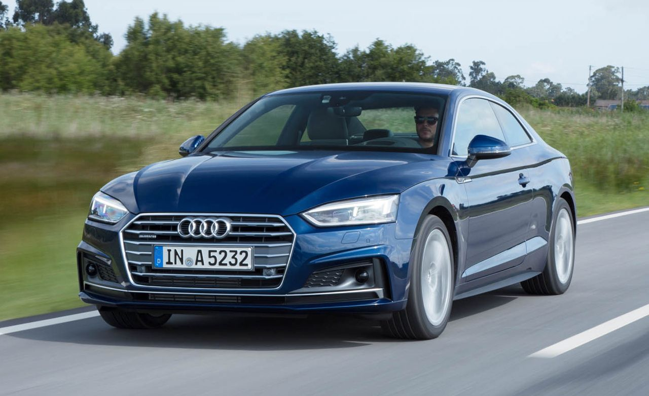 2018 Audi A5 First Drive Review Car And Driver
