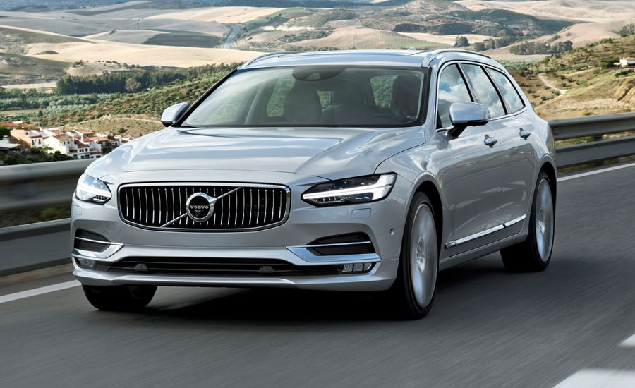 2018 Volvo V90 Wagon First Drive – Review – Car and Driver