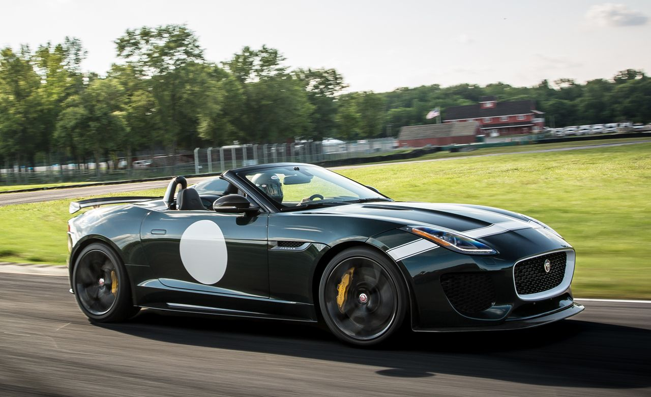jaguar f type project 7 first drive review car and driver. Black Bedroom Furniture Sets. Home Design Ideas