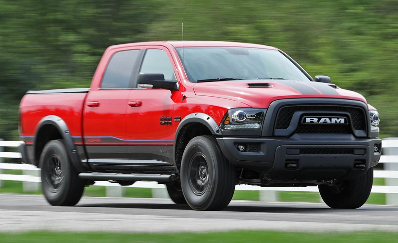 2018 Dodge Rebel >> Quick Take Review Ram 1500 Pickup Review Car And Driver