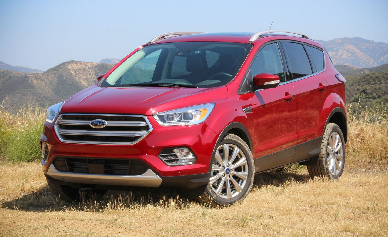Refreshed 2017 ford escape first drive review car and driver