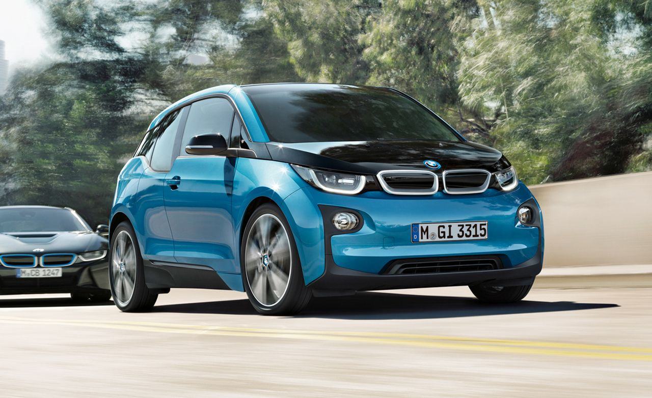 2017 bmw i3 revealed more range leads the updates news car and driver. Black Bedroom Furniture Sets. Home Design Ideas