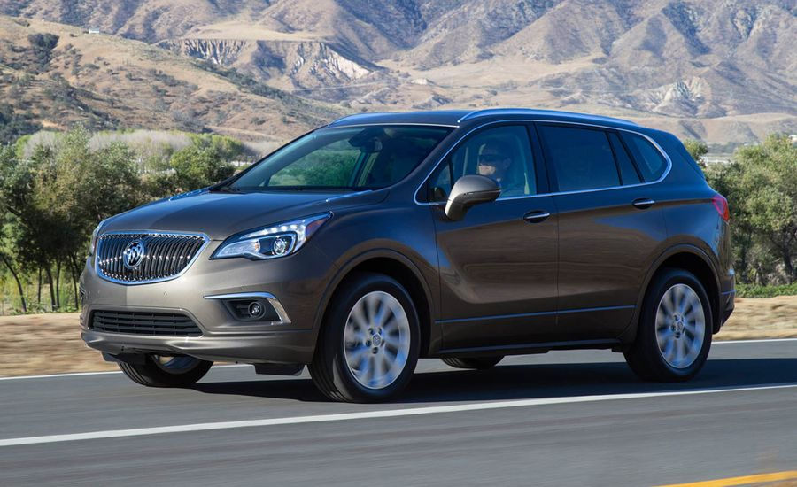 2017 Buick Envision Broadened Lineup Offers Second Engine New Lower Priced Trim Levels