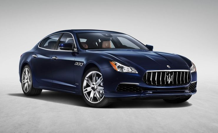 2017 Maserati Quattroporte Debuts, Plays Catch-Up with More Luxury, More Tech