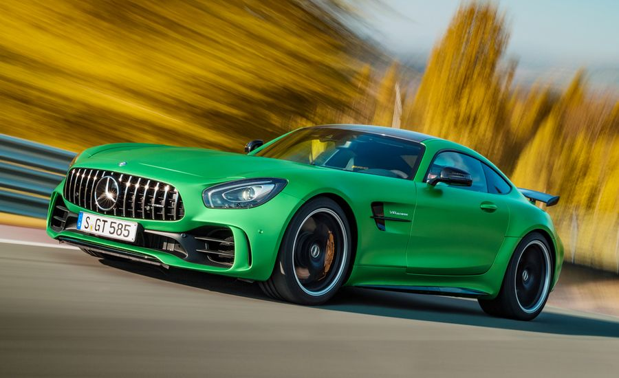 2017 mercedes amg gt r official photos and info news for Car paint shop prices