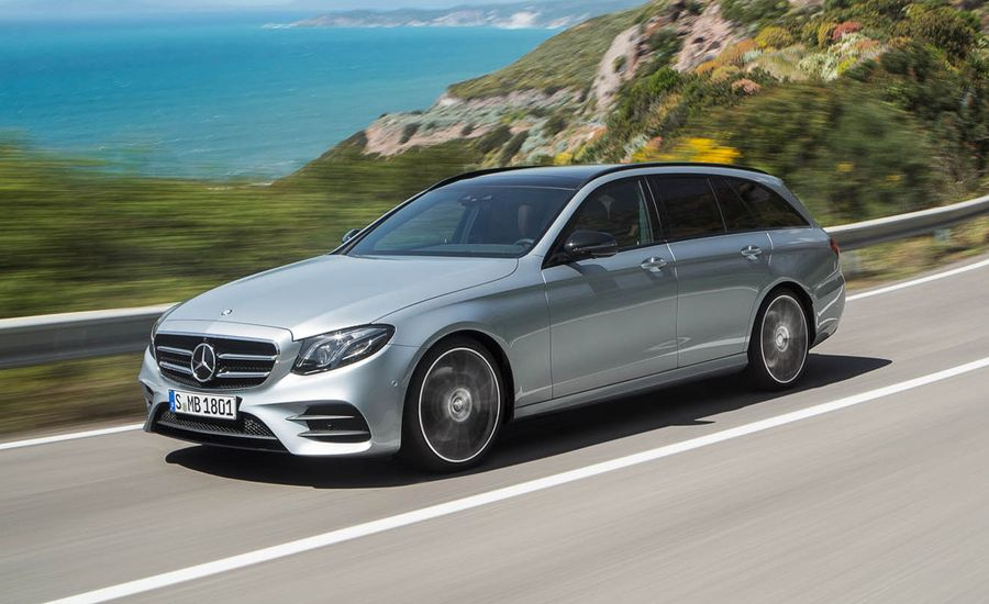 2017 mercedes benz e class wagon news car and driver