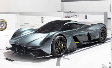 Aston Martin and Red Bull's $3 Million Hypercar Is Here: Meet the 2018 AM-RB 001
