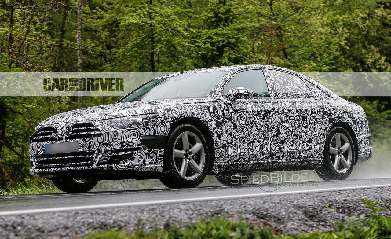 2018 Audi A8 Spied