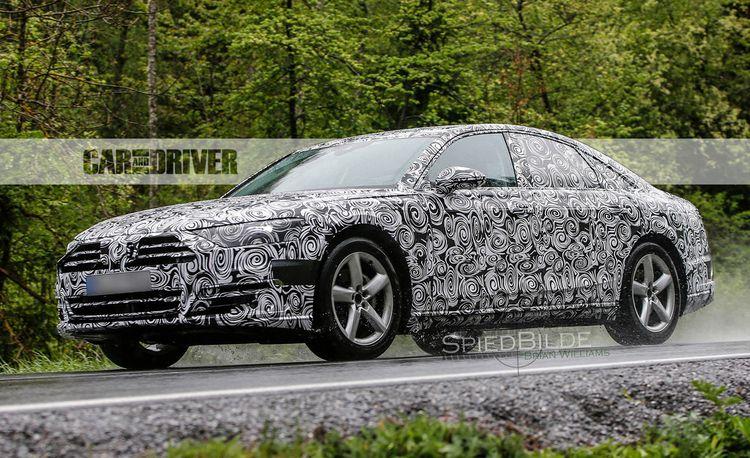 2018 Audi A8 Spied