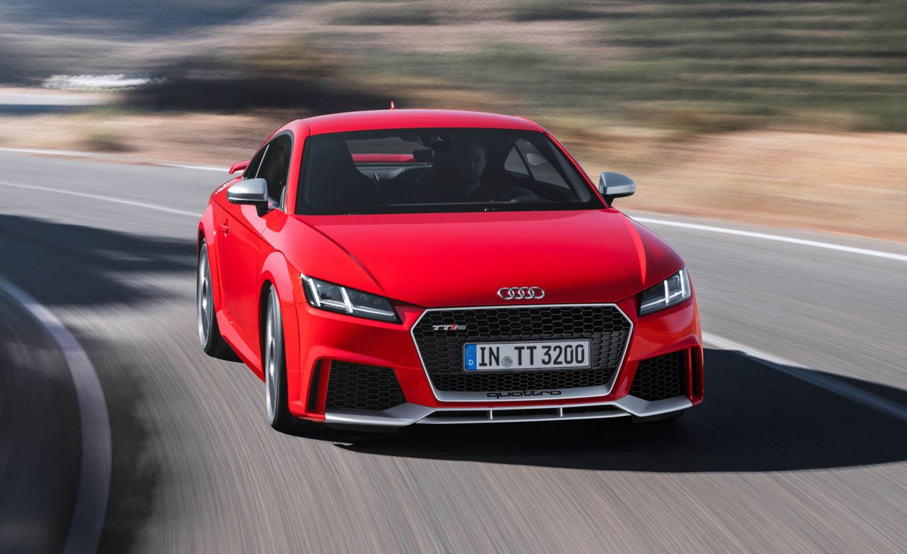 2018 Audi TT RS: 400 Horses, No Manual Gearbox