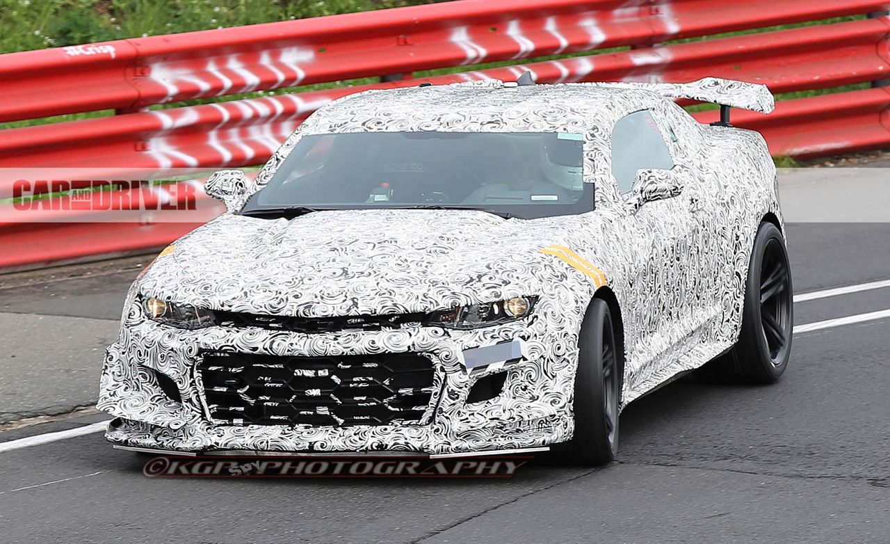 2018 Chevrolet Camaro Z/28 Spied Assaulting The Nurburgring!