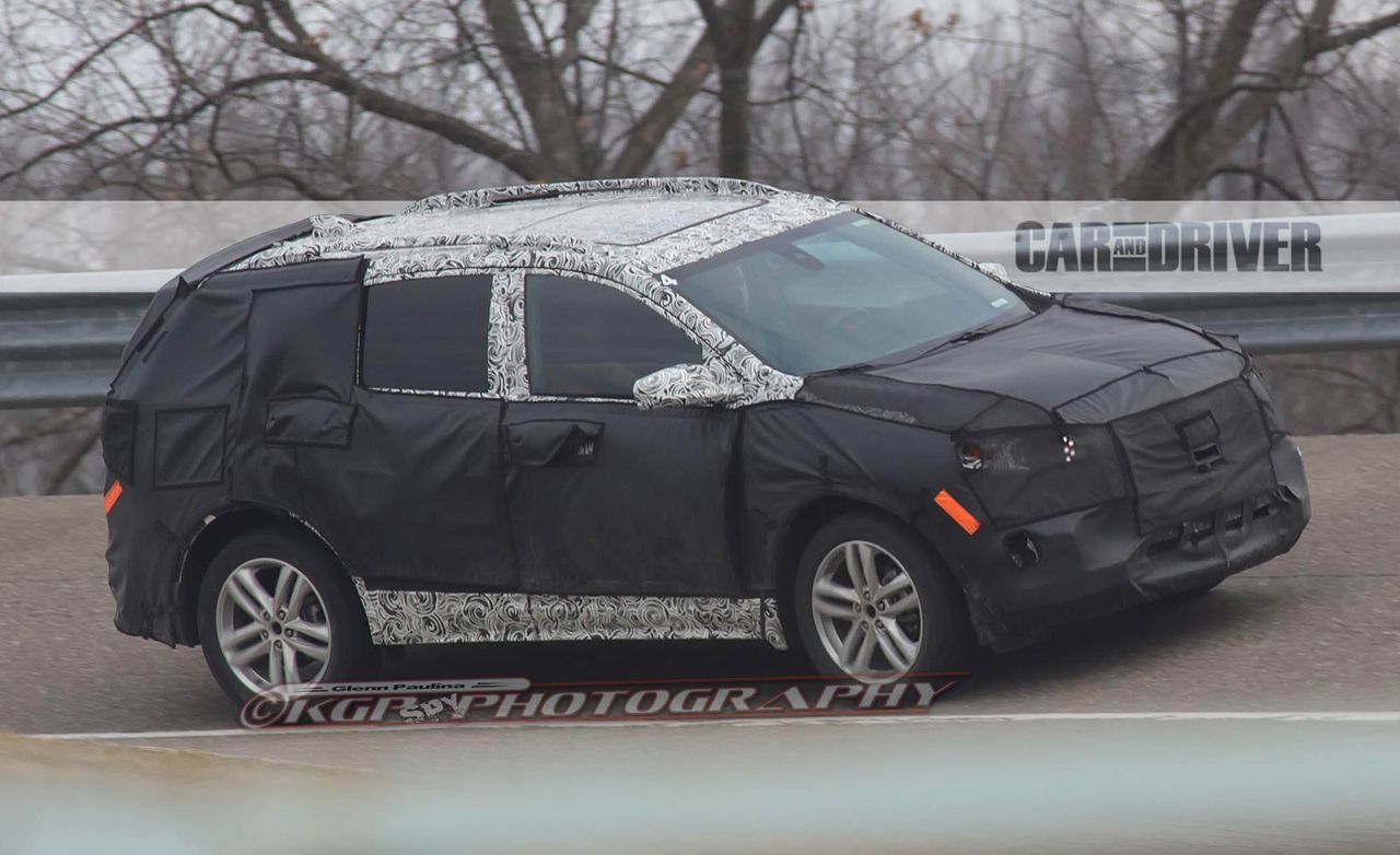 2018 Chevrolet Equinox Spy Photos  News  Car and Driver