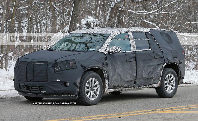2018 Chevrolet Traverse Spy Photos