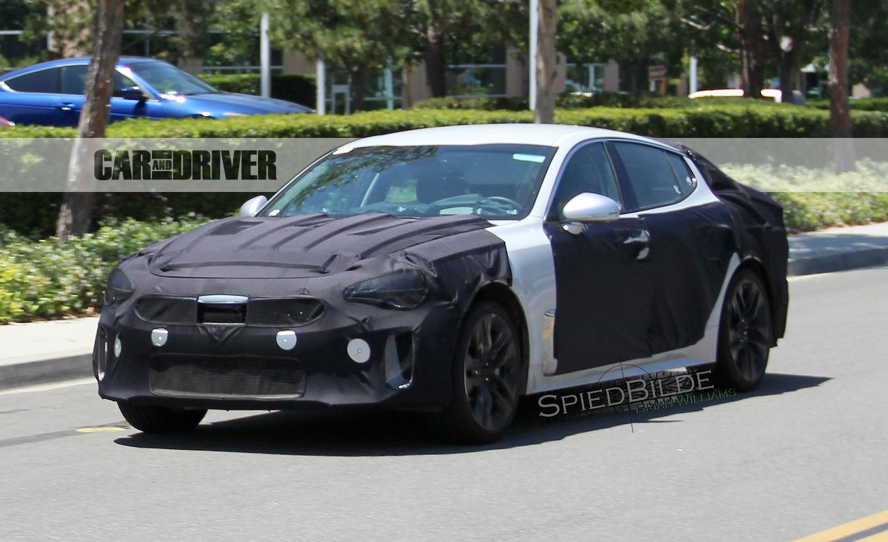 2018 Kia GT Sedan: The 3-series Fighter Inches Toward Reality