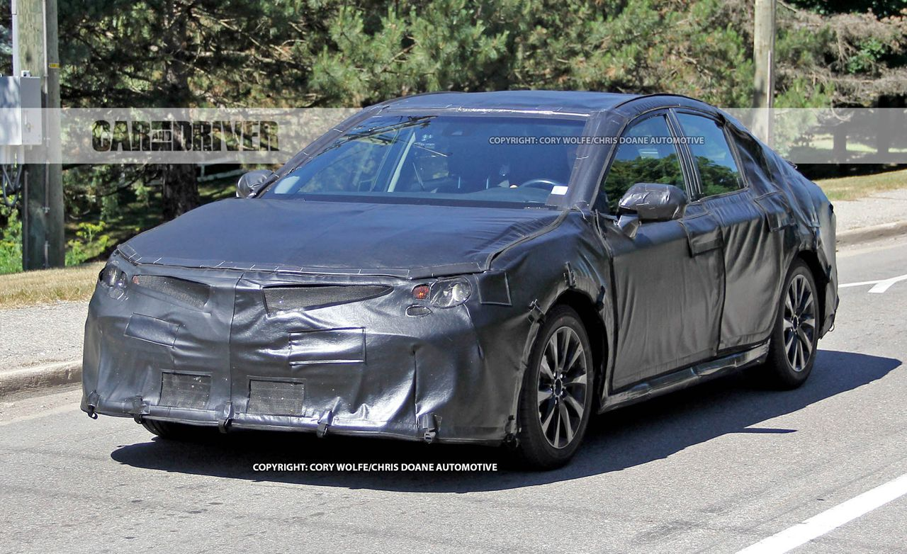 2018 Toyota Camry Spy Photos | News | Car and Driver