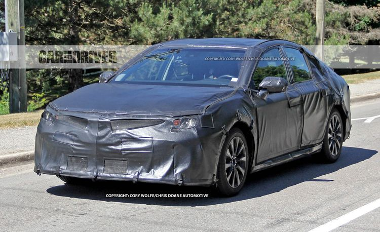 2018 Toyota Camry Spied: Normalness in a New Generation