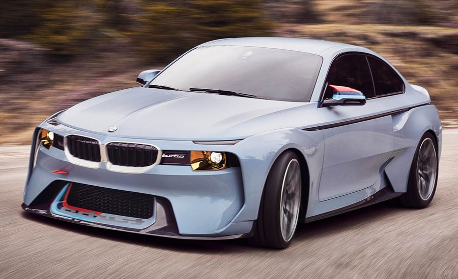BMW 2002 Hommage Concept: Paying Tribute to an Icon