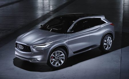 Infiniti QX Sport Inspiration Concept: Meet Infiniti's Next Swoopy Crossover