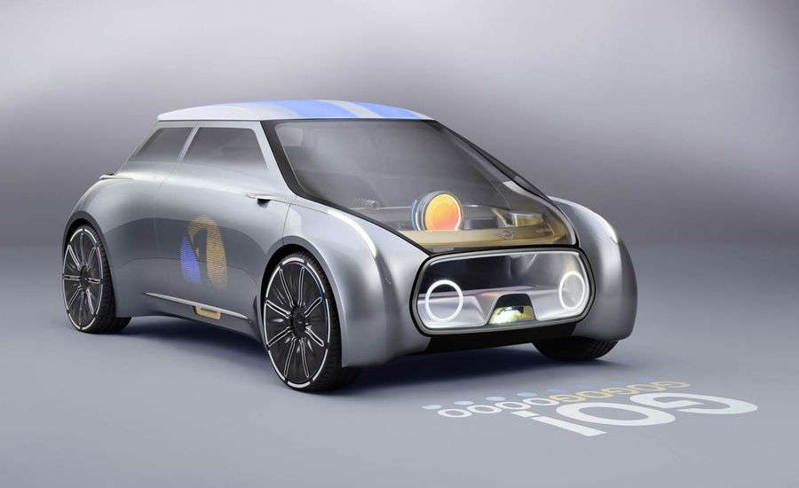 Mini Vision Next 100 Concept: The Future of Old School
