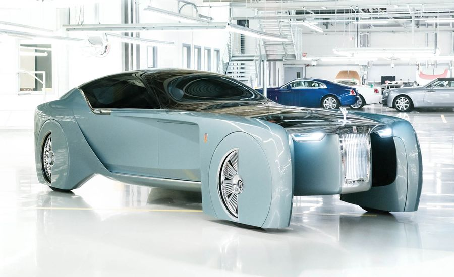 Rolls-Royce 103EX Concept: Holy Crap, the Future of Luxury Looks Insane