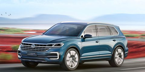 If You Re Having A Hard Time Sorting Out Volkswagen S Recent Flotilla Of Crossover And Suv Concepts Just Wait The Automaker Is In Throes