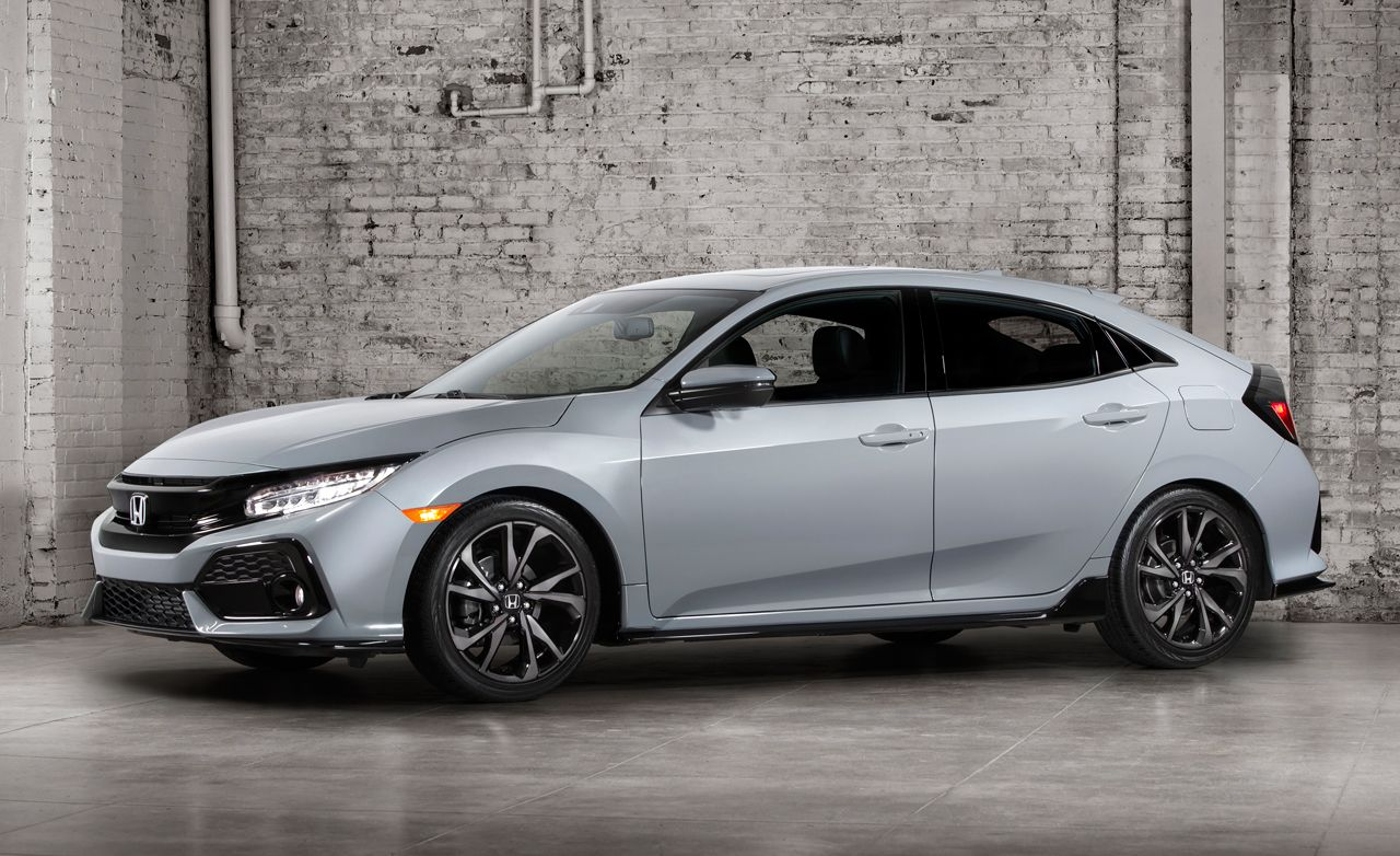 2017 Honda Civic Hatchback: All Turbo, Available Stick